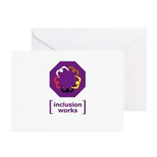 [inclusion works] Greeting Cards (Pk of 10)