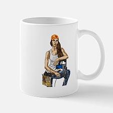 Woman Construction Worker Mugs