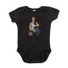 Woman Construction Worker Baby Bodysuit
