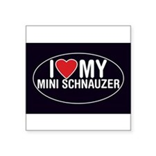 miniature-schnauzer-sticker Sticker