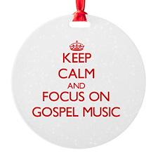 Gospel songs Ornament