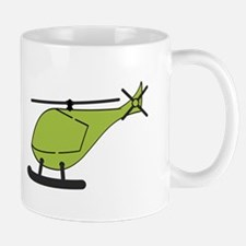 Green Helicopter Mugs