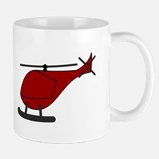 Red Helicopter Mugs