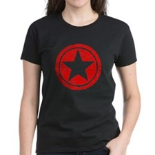 Star in Red Tee