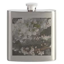 Plum Tree in Bloom Flask