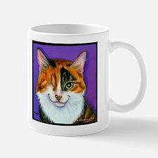 Calico One Eye Cat Mug