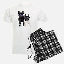 Bulldog Frances con Gafas de  Pajamas