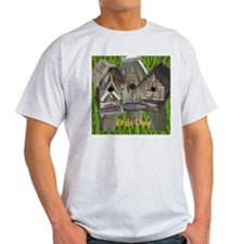 Three Birdhouses T-Shirt