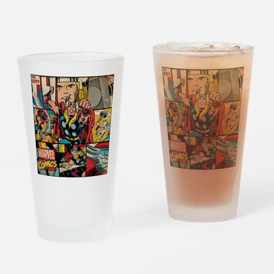 Thor Collage Drinking Glass
