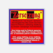 ZERSETZUNG USA Sticker