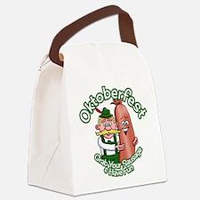 Oktoberfest Grab Sausage 2014 Canvas Lunch Bag
