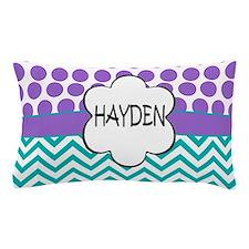 Hayden Lavender Turquoise Pillow Case