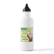Aunty Acid: Filled wit Water Bottle
