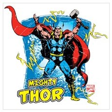Mighty Thor Wall Art Poster