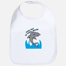 Stay Out of the Water Bib