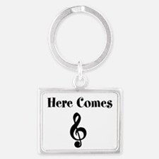 Here Comes Treble Keychains