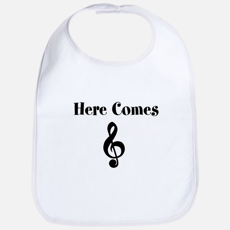 Here Comes Treble Bib