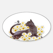 Daisy Cat Decal