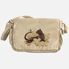 Cute Daisies Messenger Bag