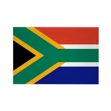 South Africa Flag Rectangle Magnet (100 pack)