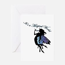 Its a Magical World Greeting Cards