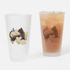 Cute Gardens Drinking Glass