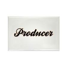 Producer Baseball Rectangle Magnet