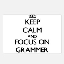 Funny Grammar rules Postcards (Package of 8)