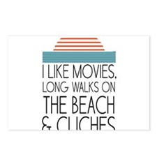 I like movies, long walks on the beach & cliches P