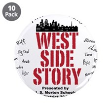 "New West Side.png 3.5"" Button (10 pack)"