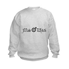 Male Witch Sweatshirt