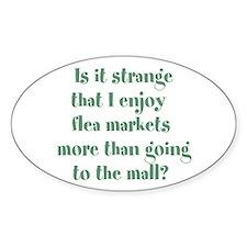 Flea Market Crazy Decal