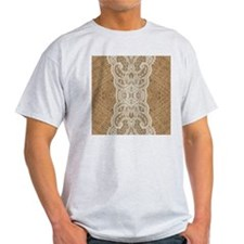 burlap lace western country T-Shirt