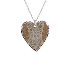 Cute Lacie Necklace Heart Charm