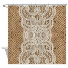 Cute Vintage cowgirls Shower Curtain