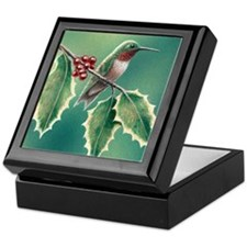 """Hollybird"" Keepsake Box"