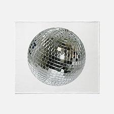 Spazzoid Disco Ball Throw Blanket