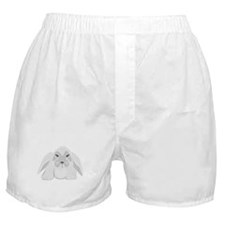 Grey Bunny Boxer Shorts