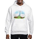 Sebastopol Goose Pair Hooded Sweatshirt