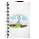 Sebastopol Goose Pair Journal