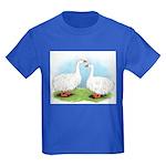 Sebastopol Goose Pair Kids Dark T-Shirt