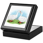 Sebastopol Goose Pair Keepsake Box