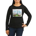 Sebastopol Goose Pair Women's Long Sleeve Dark T-S