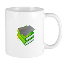 School Book Graduation Cap Mugs