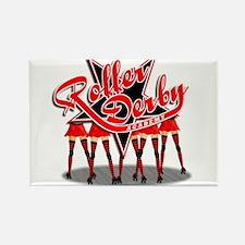 Roller Derby Academy Rectangle Magnet