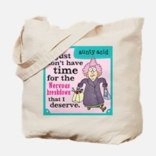 Aunty Acid: Nervous Breakdown Tote Bag