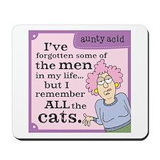 Aunty Acid: Forgotten Men Mousepad