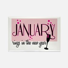 January Rings Magnets