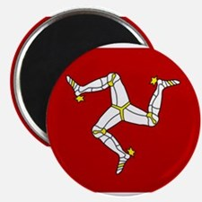 "isle of man flag 2.25"" Magnet (10 pack)"