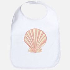 Pink Seashell Bib